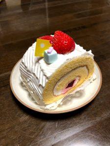 記念品ケーキ